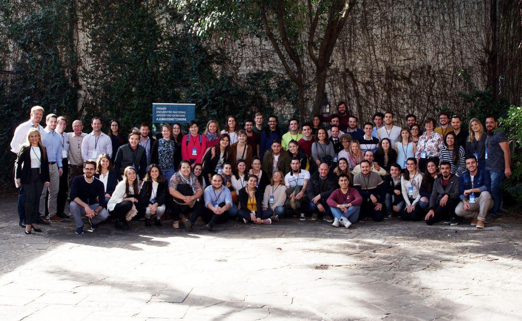 Erster deutsch-argentinischer Jugendkongress im August in der Stadt Rosario auf dem die Initiative #JungesNetzwerk gegründet wurde