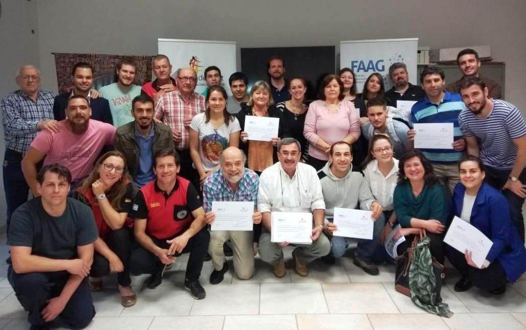 Fortbildungsseminar zum Thema Projektmanagement in der Stadt Resistencia, Provinz Chaco