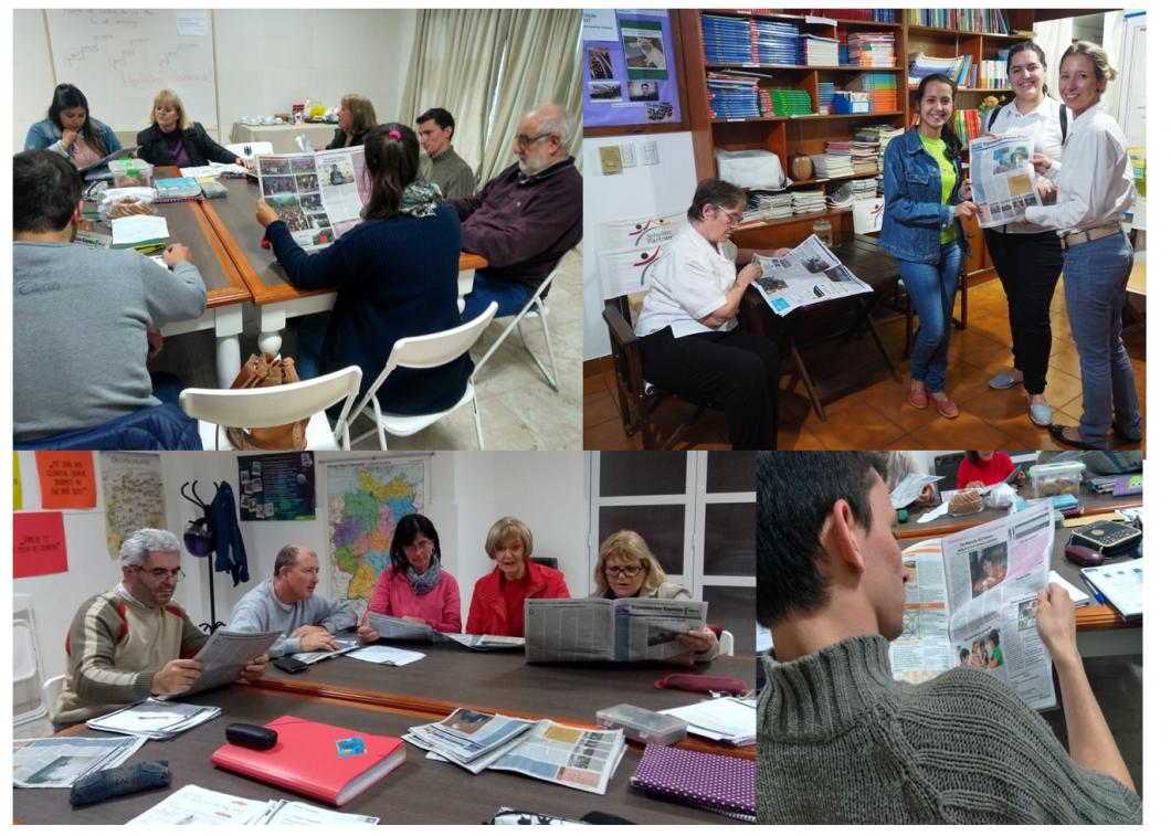 Die Tageblatt-Aktion der F.A.A.G. und der Stiftung Verbundenheit erreicht viele Teilnehmer der Deutschsprachkurse in den Vereinen